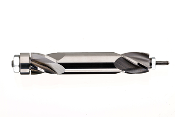 Bild von Zylindrischer Hartmetallfräser mit Führungskugellager Ø 6 mm, ALNOVA
