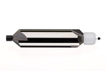 Bild von Hartmetallfräser 60° mit festem Führungszapfen / Durchm. 2.5 mm