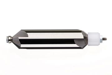 Bild von Hartmetallfräser 60° mit Führungs- kugellager / Durch. 4 mm