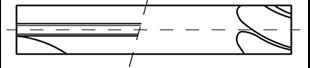 Bild für Kategorie Zylindrische-Fräser
