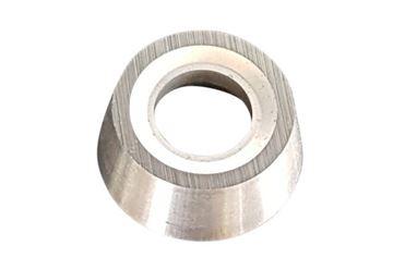 Bild von Hartmetall-Wendeplatten rund und geschliffen