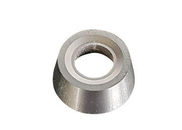 Bild von Hartmetall-Wendeplatten rund, geschliffen und beschichtet