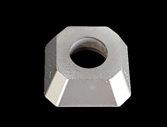 Bild von Cermet Wendeplatte quadratisch, beschichtet und geschliffen