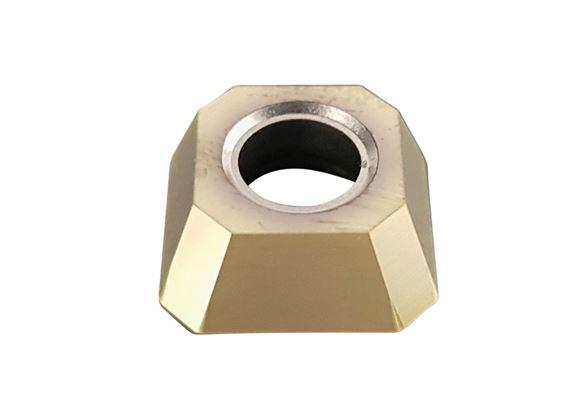 Bild von Hartmetall-Wendeplatten quadratisch, beschichtet