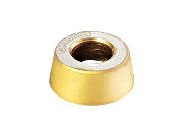 Bild von Hartmetall-Wendeplatte rund, beschichtet